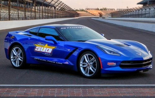 The 2014 Chevrolet Corvette Stingray Pace Car