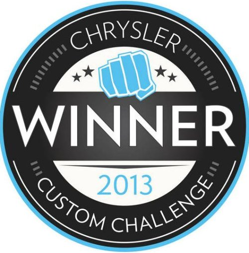 The 2013 Chrysler Custom Challenge logo