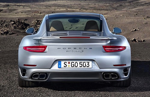 2014 Porsche 911 Turbo and Turbo S