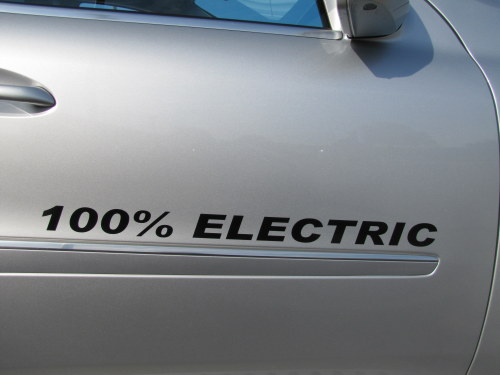 Ride and Drive at BPI 2011 featured all electric cars