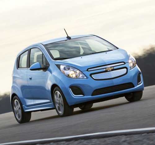 2014 Chevy Spark EV 1LT Image courtesy of Newspress